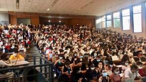 Le nombre d'étudiants a augmenté de 13 % entre 2012 et 2018. Crédit : Guillaume Pannetier.