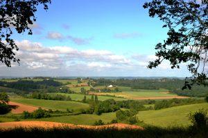 Vue du paysage agricole du Gers / Marianne Casamance - Wikicommons