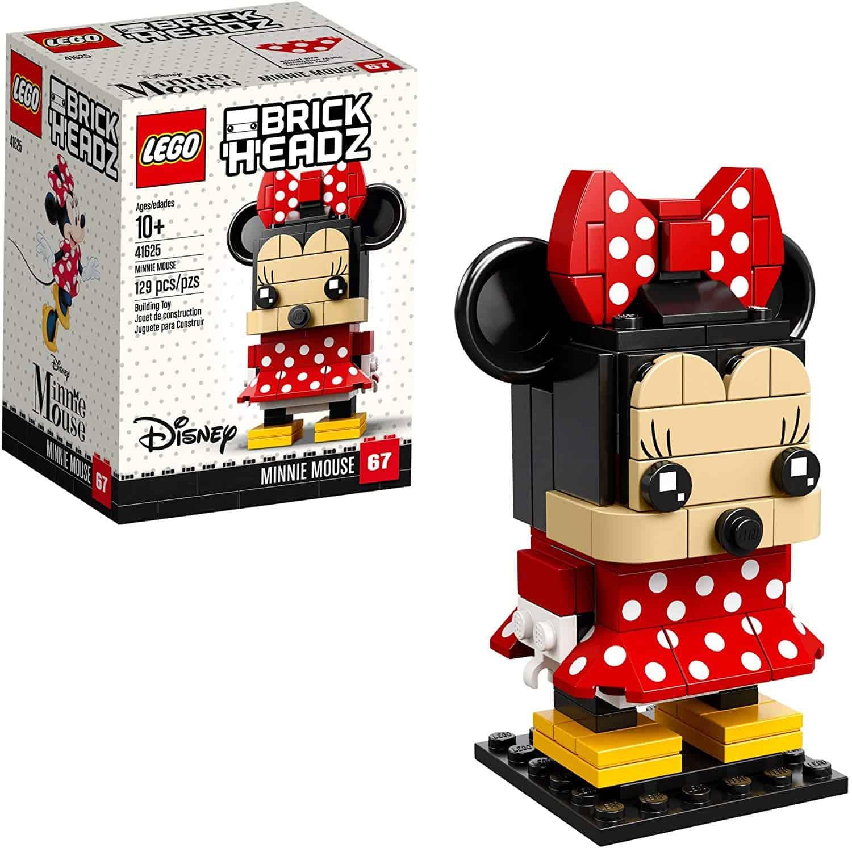 lego brick headz minnie mouse 41625