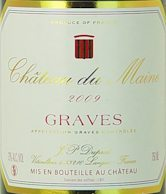2009-CHATEAU-DU-MAINE-Graves---Lea-and-Sandeman---Wine-of-the-Week