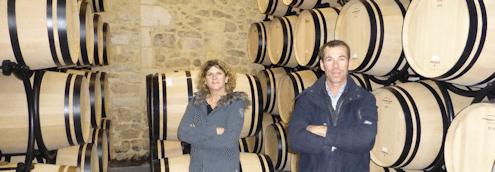 Barrel cellar for Clos Manou