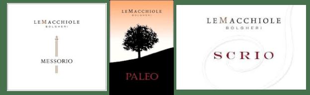 Macchiole labels