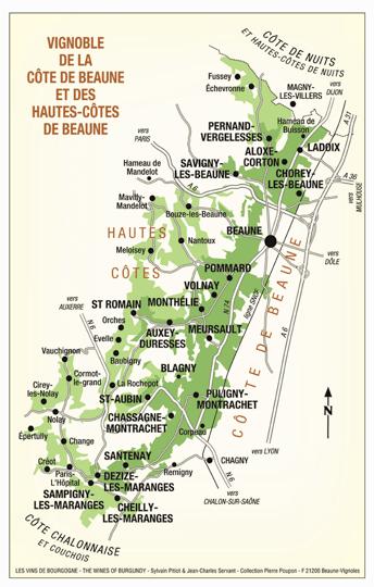 Cote_de_Beaune-Pommard Map