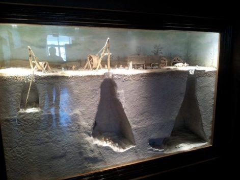 Crayeres-chalk pit-model