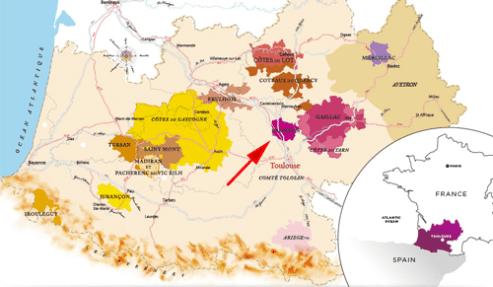 Fronton-Map