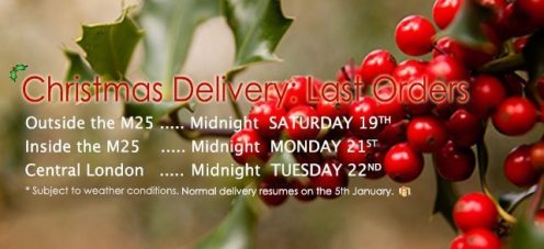 Christmas Delivery Time