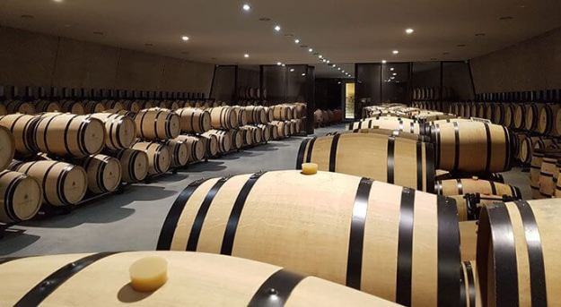 ...with a barrel-cellar under it (and the river)...