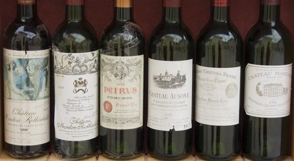 bordeaux fine wine line up