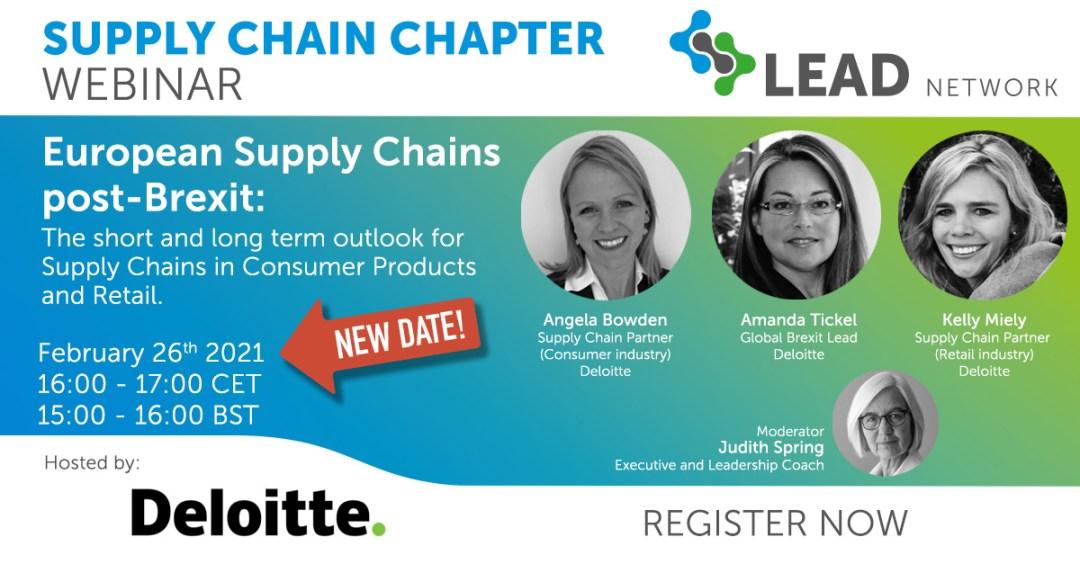 LEAD Network Supply Chain Webinar