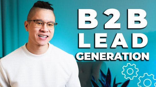 What is B2B Lead Generation