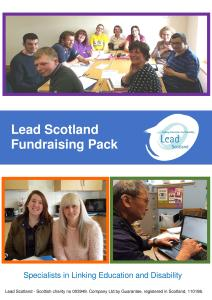 Cover of the Fundraising Pack