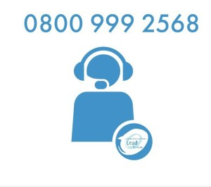 helpline icon with 0800 999 2568 telephone number