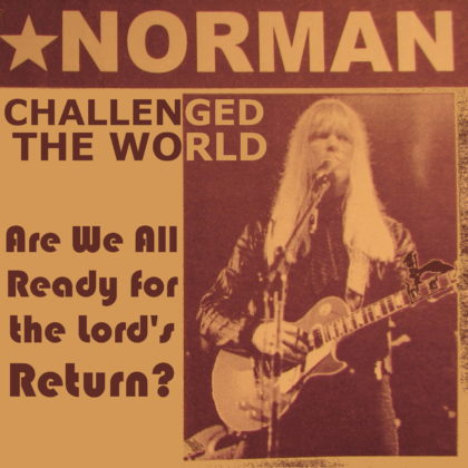 Photo Credit: The last time I saw Larry Norman via photopin