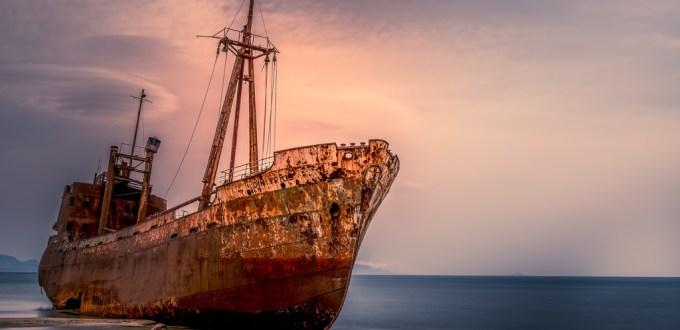 Shipwreck Dimitrios - Gythion : Greece
