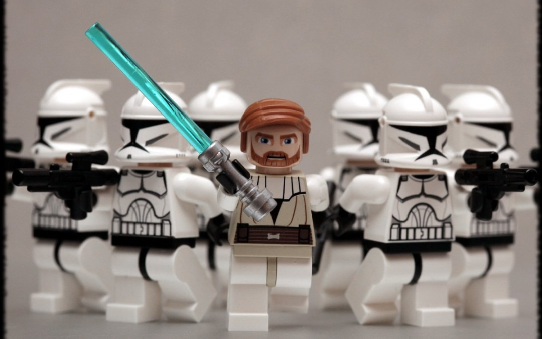How to Become a Team Building Jedi Master, Saga I