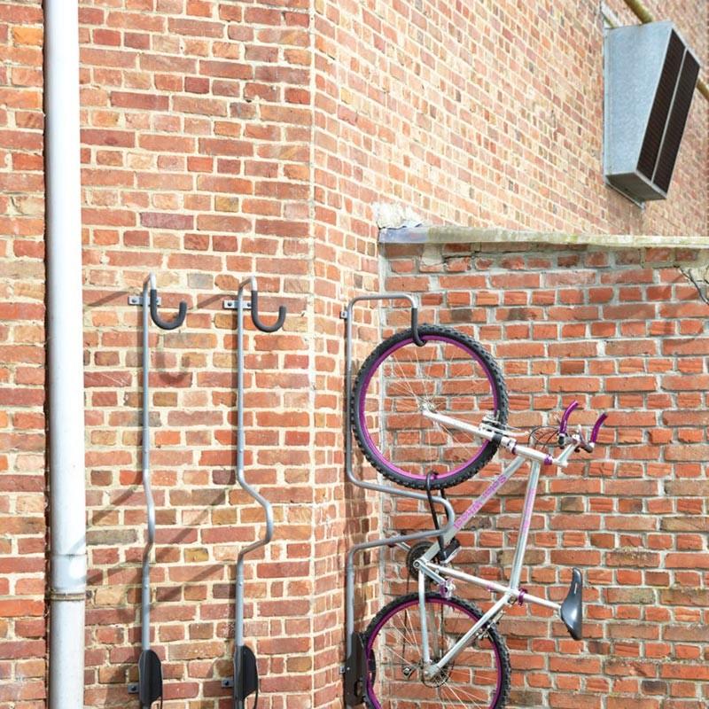 range velo mural support a velo mural antivol fixation murale antivol pour velo