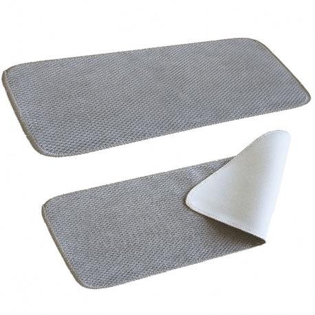 tapis couloir anti glisse en microfibre pour camping car et caravane