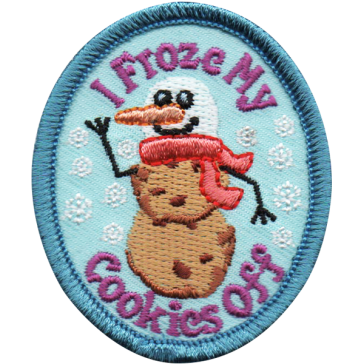 I Froze My Cookies Off Fun Patch