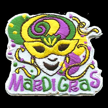 Mardi Gras Fun Patch