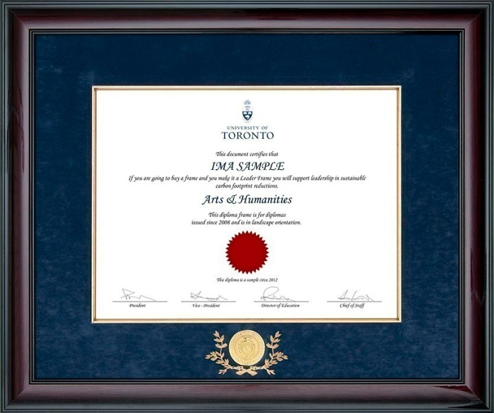 cfa diploma frame   Frameswall.co