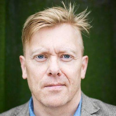 Jón Gnarr humoriste acteur ancien maire de Reykjavik