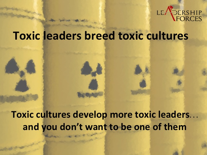 The Six Characteristics of Toxic Leaders