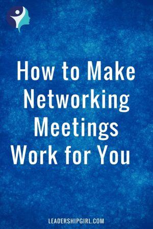 networking meetings