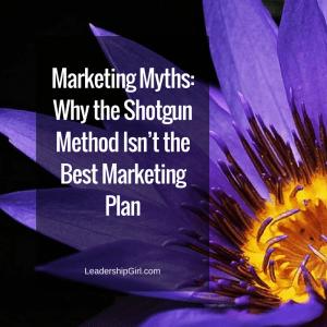 Marketing Myths: Why the Shotgun Method Isn't the Best Marketing Plan