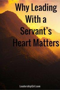 servant's heart