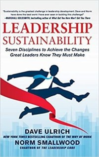 Book Cover - Leadership sustainability by Dave Ulrich