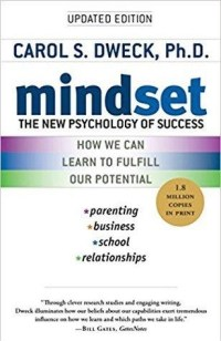Book Cover - Mindset The New Psychology of Success by Carol d. Dweck