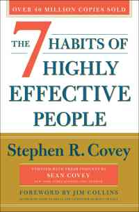 Book Cover- The 7 Habits of Highly Effective People Steven R. Covey