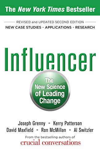 Book Cover - Influencer: The New Science of Leading Change, Second Edition