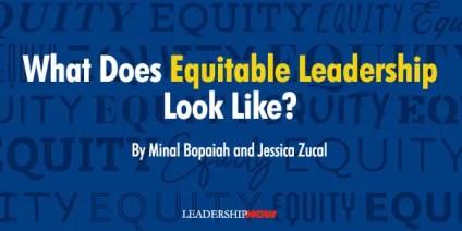 Equitable Leadership