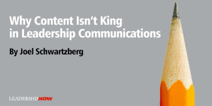 Why Content Isn't King