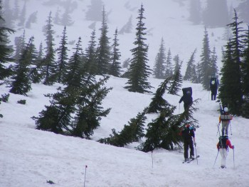 Climbing Mt Rainier in the US Pacific Northwest