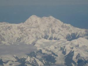 Denali in Alaska - the highest base to peak mountain on Earth.