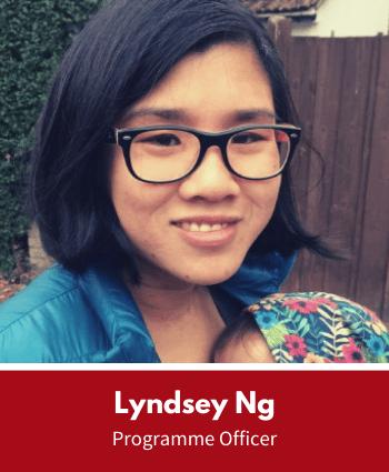 Lyndsey Ng, Programme Officer, Leaders Plus