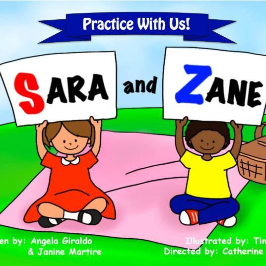 Cover of Sara and Zane Book