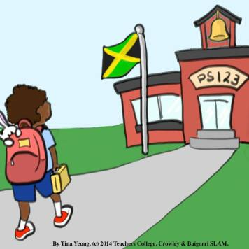 Picture of Bunny Goes to School Jamaica