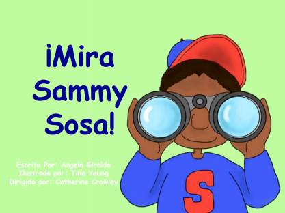 Cover of Sammy Sosa Book