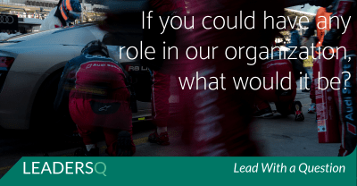 If You Could Have Any Role in Your Organization, What Would It Be?