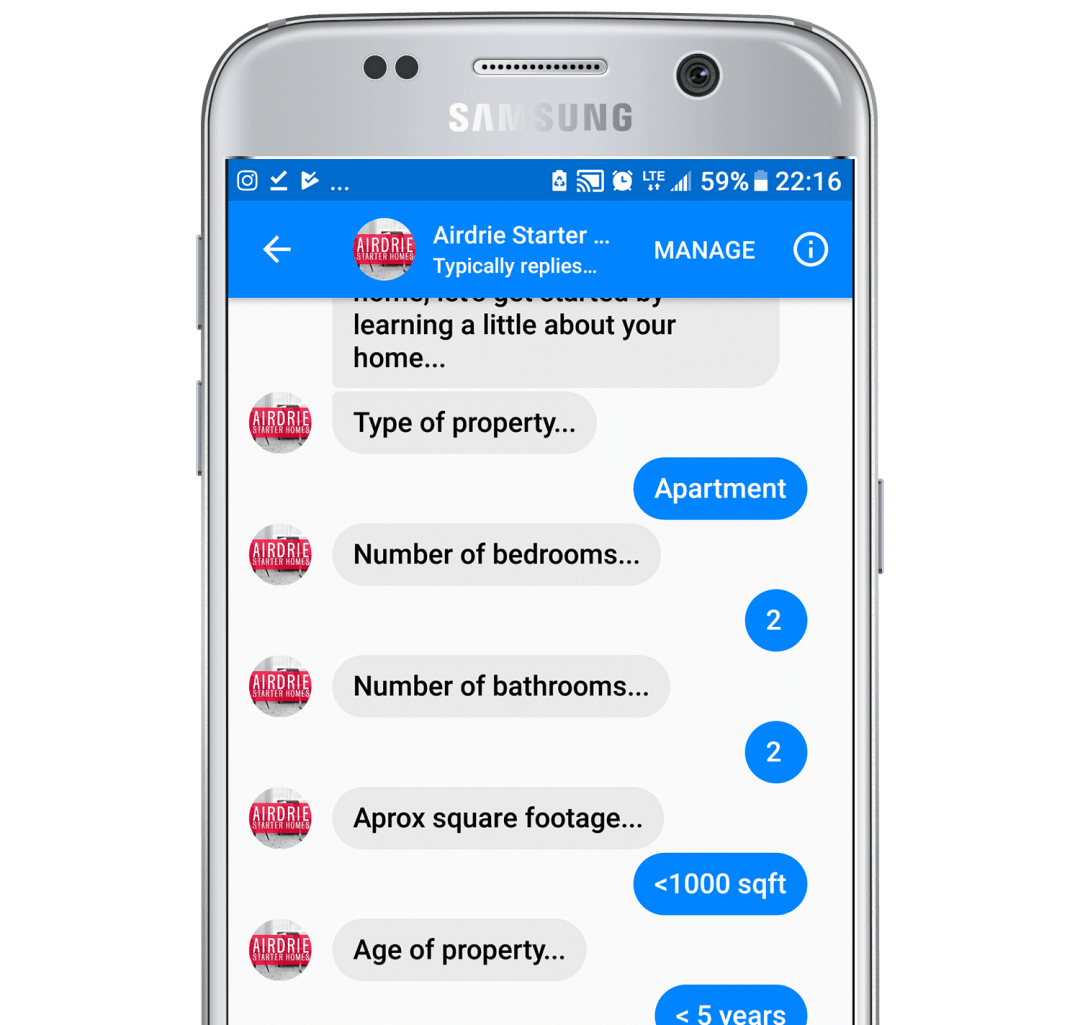 real estate lead generation chatbot