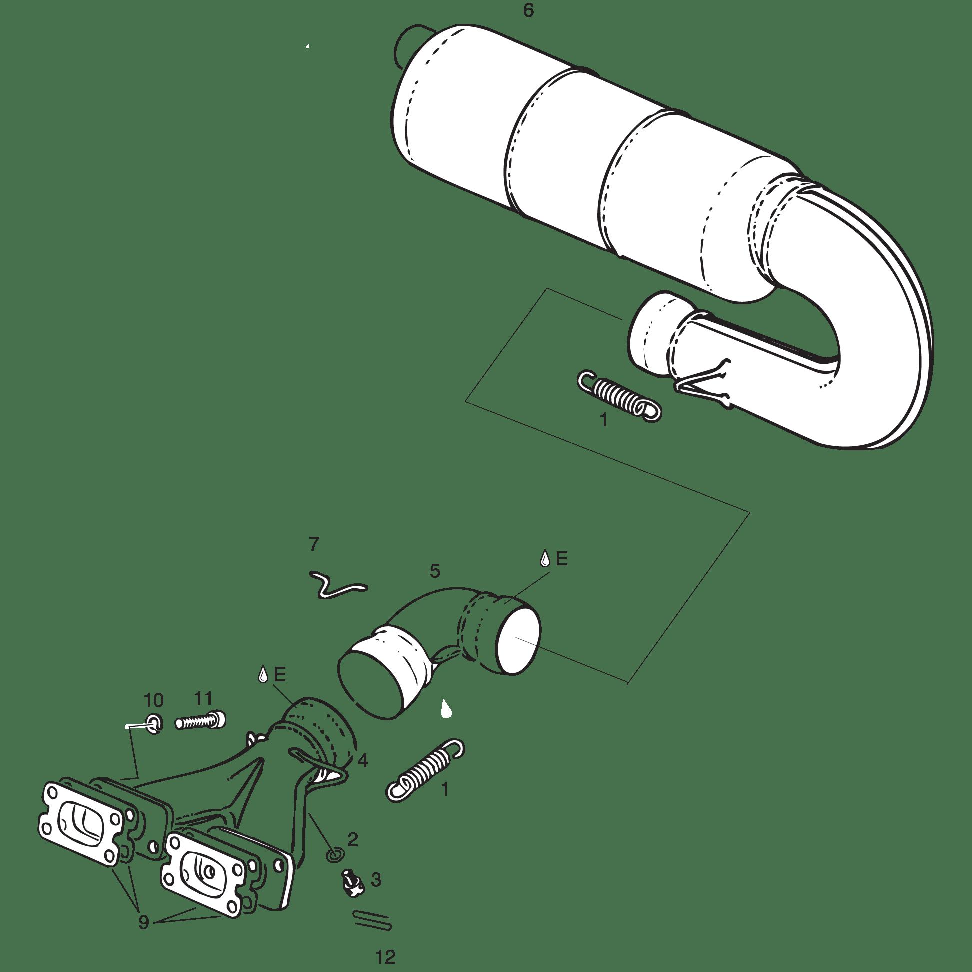 Exhaust Sidemount Configuration 447 Ul 503 Ul 582 Ul