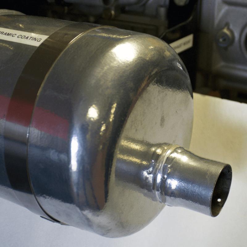 exhaust ceramic coating service chrome