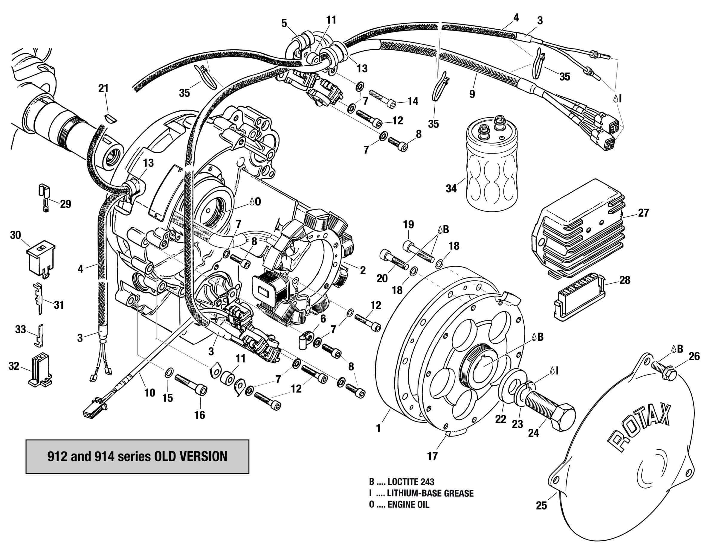 912 Amp 914 Series Magneto Generator Pick Up Rectifier Regulator