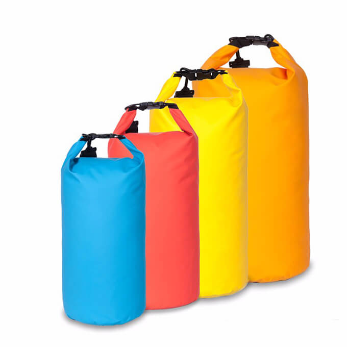 PVC Outdoor Dry Bag Camping Waterproof Bag with Shoulder Straps