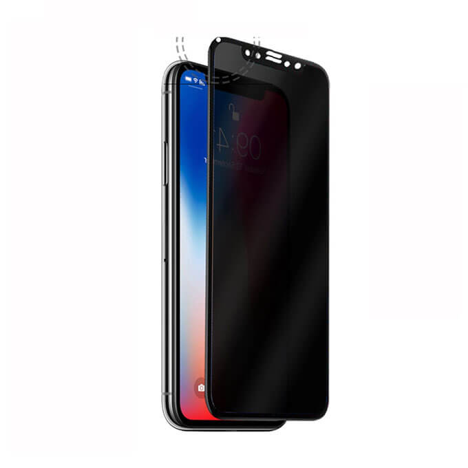 Free Sample 9H 2.5D Round Angle Screen Protector for iPhone X
