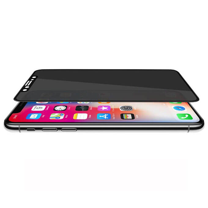 Ever Anti-Spy 9H Hardness Phone Screen Protector for iPhone 6/7/8 Plus/X/XR/XS MAX