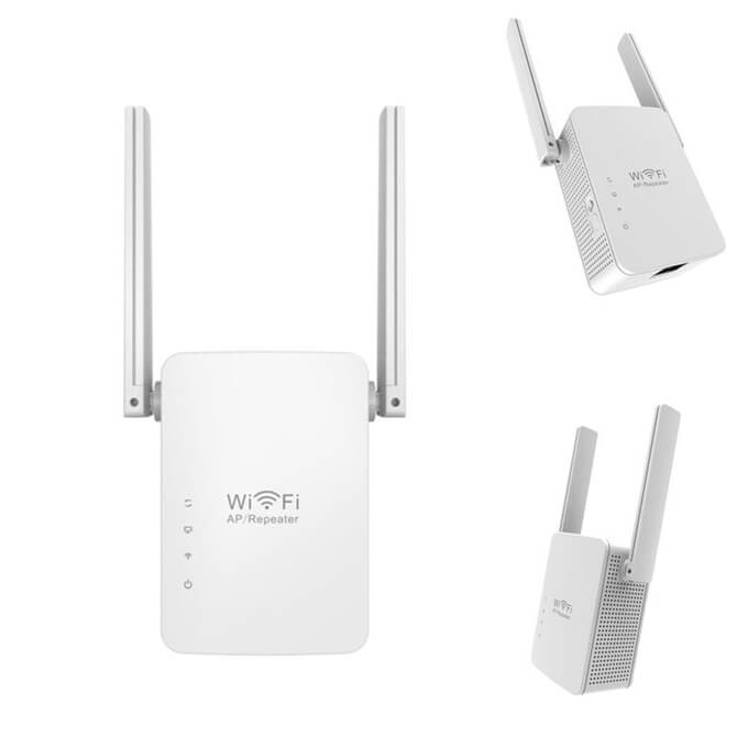 2 Antennas WR13 300Mbps Wireless-N WiFi Router Repeater Range Extender